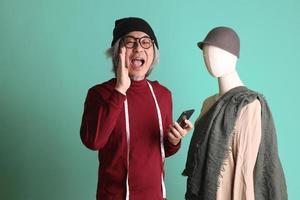 Aziatische modeontwerper foto