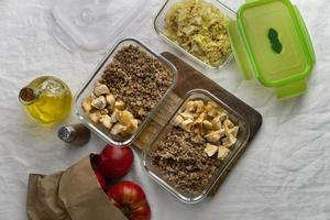 close-up heerlijke maaltijdbereiding foto
