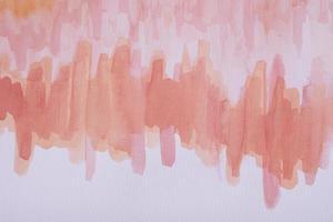 het platliggende aquarel vlekpapier foto