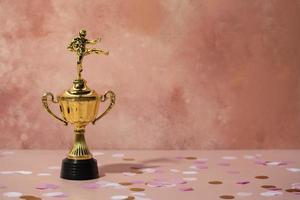 winnaar concept met coole prijs foto