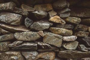 abstracte achtergrond van stenen muurtextuur foto