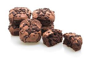 donkere chocolade brownies foto
