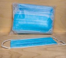 gezichtsmaskers gebruikt voor aandoeningen van de luchtwegen foto