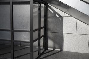 abstracte schaduwen overdag van buiten foto