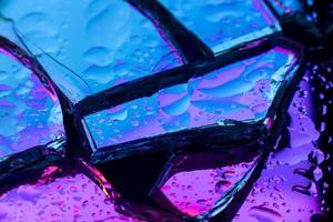 metalen holografische achtergrond. resolutie en mooie foto van hoge kwaliteit