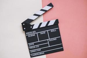 filmklapper. resolutie en mooie foto van hoge kwaliteit