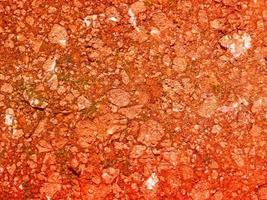 rode aarde textuur foto