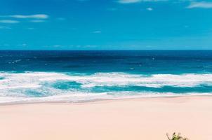 Paradise Ocean Beach in Margate, Zuid-Afrika, niemand foto
