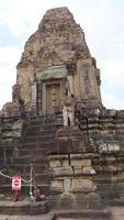 boeddhistische khmer-ruïne van pre rup, siem reap cambodja. foto