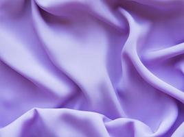gladde lila zijde of satijn foto