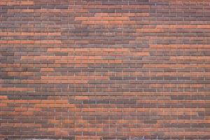 buitenkant rode bakstenen muur foto