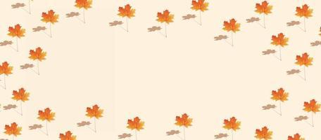patroon herfst esdoornblad foto