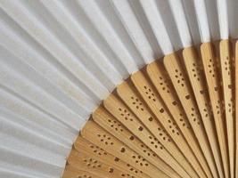 traditionele Japanse of Chinese handventilator foto