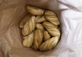 geroosterd ambachtelijk brood foto