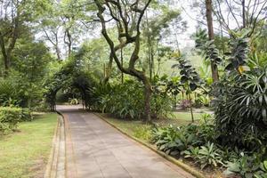 perfecte en schone botanische tuinen van park perdana in Kuala Lumpur. foto