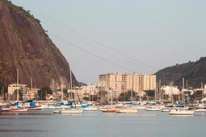 Botafogo-inham in Rio de Janeiro, Brazilië. foto