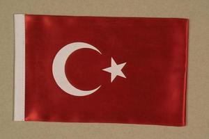 vlag van de republiek turkije foto