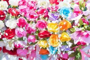 mooie bos bloemen foto