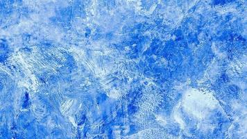 blauw geschilderde grunge achtergrondstructuur. mooie abstracte decoratieve foto
