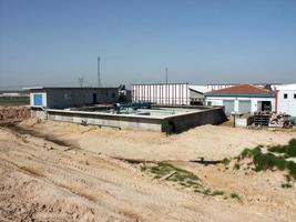 magazijn of multifunctioneel industrieel gebouw foto