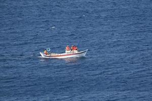 turkije, 2021 - boot in het water foto