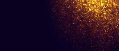 abstracte gouden bokeh achtergrond foto