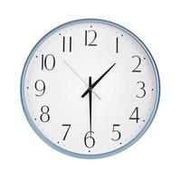 klok toont de helft van de seconde foto