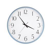 vijf minuten tot vier uur foto