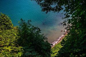 beroemde uitzicht van groene kaap naar de zwarte zee foto