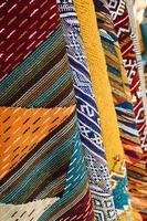 tapijten markt marokko foto