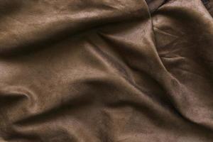 bruine gordijn achtergrond foto