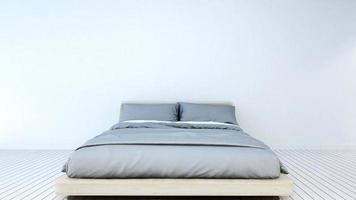 slaapkamer in huis of appartement foto
