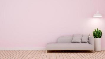 woonkamer in huis of appartement foto