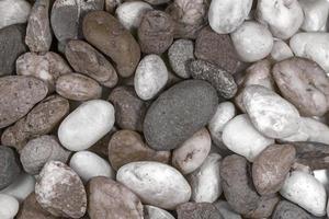 gestreepte steen in de natuur foto