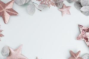 kerst decor achtergrond foto