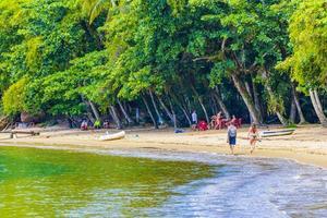 grande rio de janeiro, brazilië, 23 nov 2020 - mangrove- en pousostrand foto