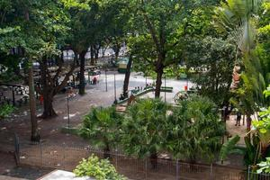 rio de janeiro, brazilië, 2015 - serzedelo belt square in copacabana foto