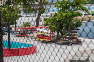 rio de janeiro, brazilië, 2015 - hoofdkwartier van de flamengoregattaclub foto