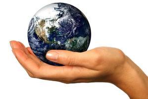 onze toekomst ligt in onze handen foto