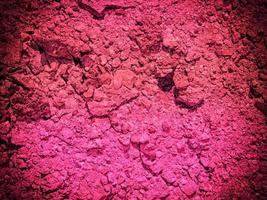 roze aarde textuur foto