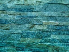 groenblauw steen textuur foto