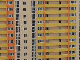 nieuwe residentiële hoogbouw en multi-appartementsgebouwen foto