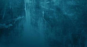 krassen op donkerblauw cement voor achtergrond foto