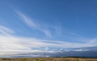 lucht met vage wolken foto