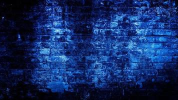 grunge achtergrond van blauwe muur. abstracte achtergrond foto