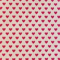 naadloze patroon met rode harten foto
