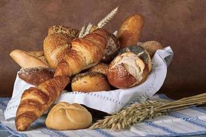 brood-brötchen foto