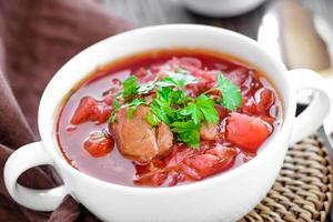 borsjt soep foto