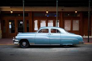 Jaren 50 auto in New Orleans foto