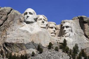 mount rushmore nationaal monument foto